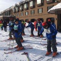 宿泊学習(3日目のスキー教室)