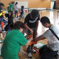 5年生 親子学習会 福祉体験