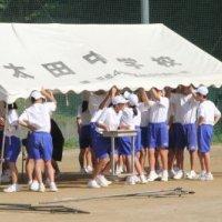 体育祭準備・・・生徒みんなの力で・・・