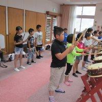 3年 太鼓の学習