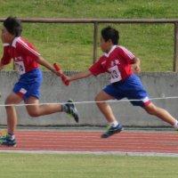 常陸太田市小学校陸上記録会が行われました。