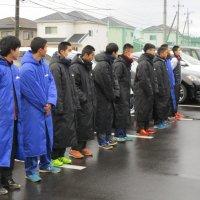 関東中学校駅伝競走大会に向けて,駅伝部が出発しました!