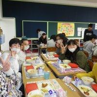 小学校生活最後の給食