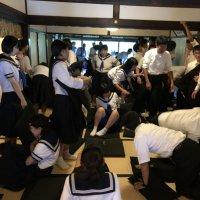 3学年修学旅行【2日目】 ホテル集合~建仁寺へ