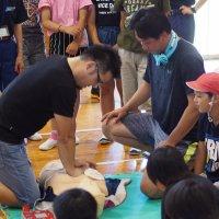 救急救命講習会を行いました。