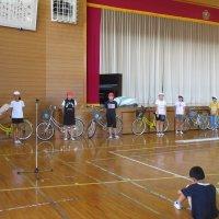 交通安全子供自転車大会は,明日です。