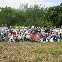 地域の農場でトウモロコシを収穫しました!