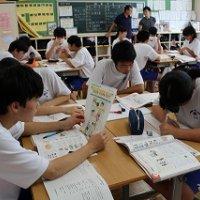 授業参観・学年懇談会が行われました。