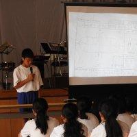 生徒集会(体育祭へ向けて)