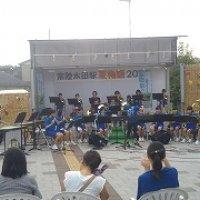吹奏楽部が常陸太田駅夏物語り2018に参加しました。