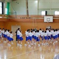 体育祭の練習①(全体練習)