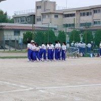 体育祭の練習②(1・3年)