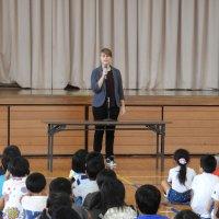新しいALTの先生と外国語の学習にTRY!