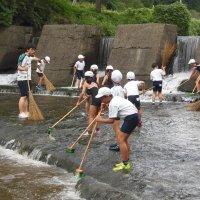 リバースミスの学校で浅川調査を行いました!