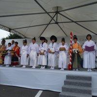 """田楽舞を発表しました! """"茨城をたべよう収穫祭2018"""""""