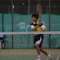 ソフトテニス県大会に出場しました