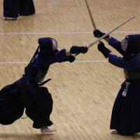 剣道男子団体 新人体育大会に出場