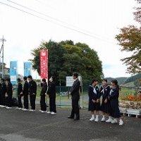 マナーアップ あいさつ運動(誉田小)を行ってきました。