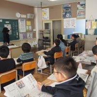 NIE新聞教育出前授業