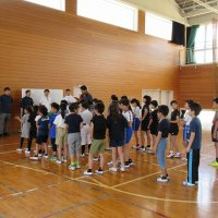 ドッチボール練習開始