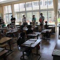 授業参観及び学級懇談会を開催!