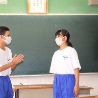 1年生英語の授業
