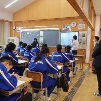 市教育委員会の訪問