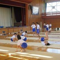 体育の授業の様子